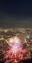 たまや-かぎや-、隅田川花火大会。